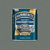 Hammerite Esmalte directo sobre hierro y óxido Forja Gris Oscuro 5 L