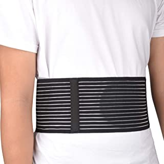 VEDA Umbilical Hernia BeltBrace – for Women and Men – Abdominal Hernia Binder for Belly Button Navel Hernia Support, Helps Relieve Pain - for Incisional, Epigastric, Ventral, Inguinal Hernia (L/XL)