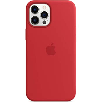 Apple Silicone Case with MagSafe (for iPhone 12 Pro Max) - (PRODUCT)RED