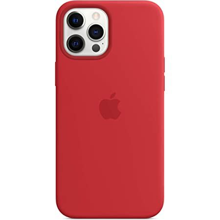 Apple Silicone Case with MagSafe (for iPhone 12 Pro Max) - (Product) RED