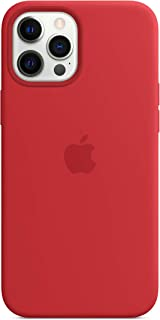 Apple Funda de Silicona con MagSafe (para el iPhone 12 Pro MAX) - (Product) Red