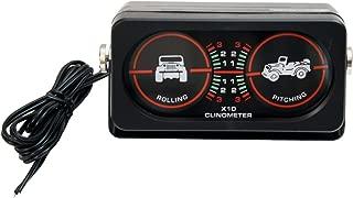 Rugged Ridge 13309.02 Roll/Pitch Indicator Clinometer with Light
