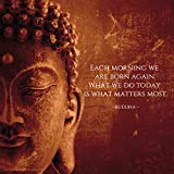 Culturenik Buddha jeden Morgen Motivational inspirierendem