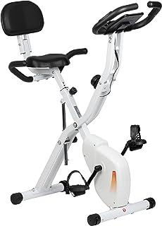 【Amazon限定ブランド】プリマソーレ(primasole) フィットネスバイク プリマバイク 折りたたみ 静音 負荷調整 心拍数測定 一年保証