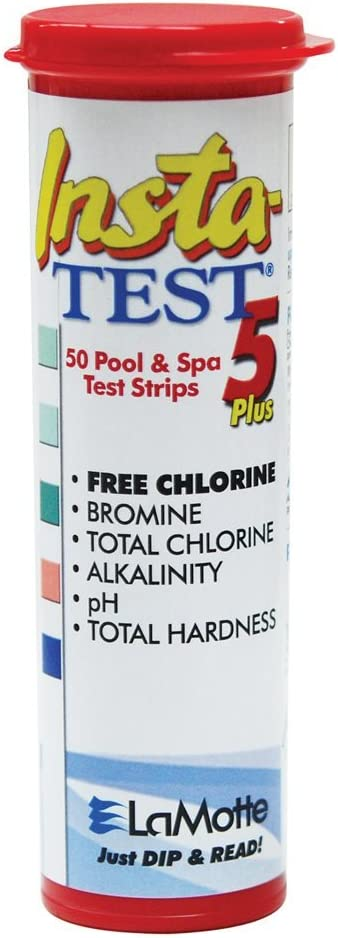 Lamotte Insta-test 5 Pool Strips 2977 Test Spa Max 57% Attention brand OFF