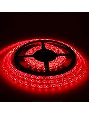 12V超高輝度 5M 600連 LEDテープ 防水 切断可能 白ベース/LEDグリーン 強力粘着両面テープ 正面発光 SMD 2835 3528