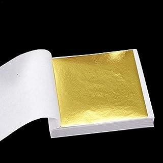 Dreameryoly pcs lámina dorada etiqueta decorativa lámina de oro decoración para línea de techo suspendido artes manualidad...