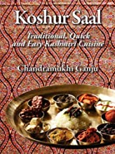 Koshur Saal: Traditional, Quick and Easy Kashmiri Cuisine --Grayscale Illustrations