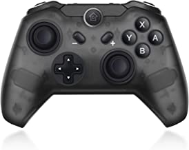 Wireless Controller for Nintendo Switch, Maegoo Bluetooth Switch Game Controller with Built-in Gyro and Gravity Sensor, Remote Gamepad Joypad Joysticks Dual Vibration and Screenshot (Black)