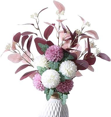 造花 - 枯れない花 - アートフラワー - 人工観葉植物 - インテリア造花 - ブーケ - 家、室内、撮影、飾り、玄関、事務所、店、喫茶店、結婚式、パーティーなど様々の応用場所