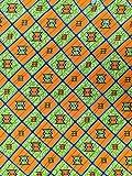 Afrikanisch Inspirierter Baumwollstoff - 6 Yard Pack (5,5 x
