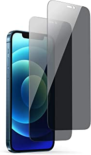 UGREEN Privacy Screen Protector Tempered Glass Anti-Spy Protector Film Compatible with iPhone 12 Pro Max 6.7 inch-2 Pack