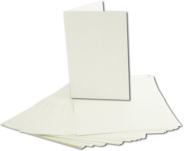 400x faltbares Einlege-Papier für A6 Doppelkarten   cremefarben   143 x 200 mm (100 x 143 mm gefaltet)   ideal zum Bedrucken mit Tinte und Laser   hochwertig mattes Papier von GUSTAV NEUSER® B07CJL954X   Schenken Sie Ihrem Kind eine glückliche Ki