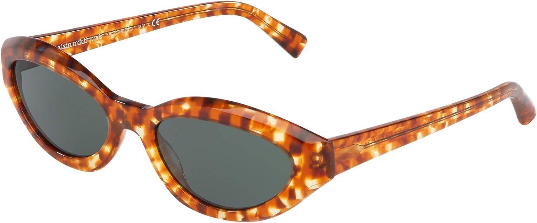 Sunglasses Alain Mikli A 5038 Checkerboard 009 Havana Amber 2021 new Discount mail order 71