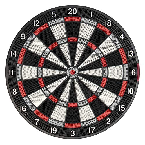 Arachnid SDB1000 Soft Tip Dartboard with Online Gameplay and Full Color Scoring and Animation, Black (SDBA1000ARA)