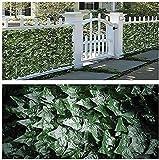 WXking Garten Screening Künstliche Hedge Privacy Screen Gartenzaun Künstliche Ivy Hedge Garten Fechten Dekorative Zäune Datenschutz Bildschirm Modell: G0522 (Color : Green, Size : 1.5x4m)