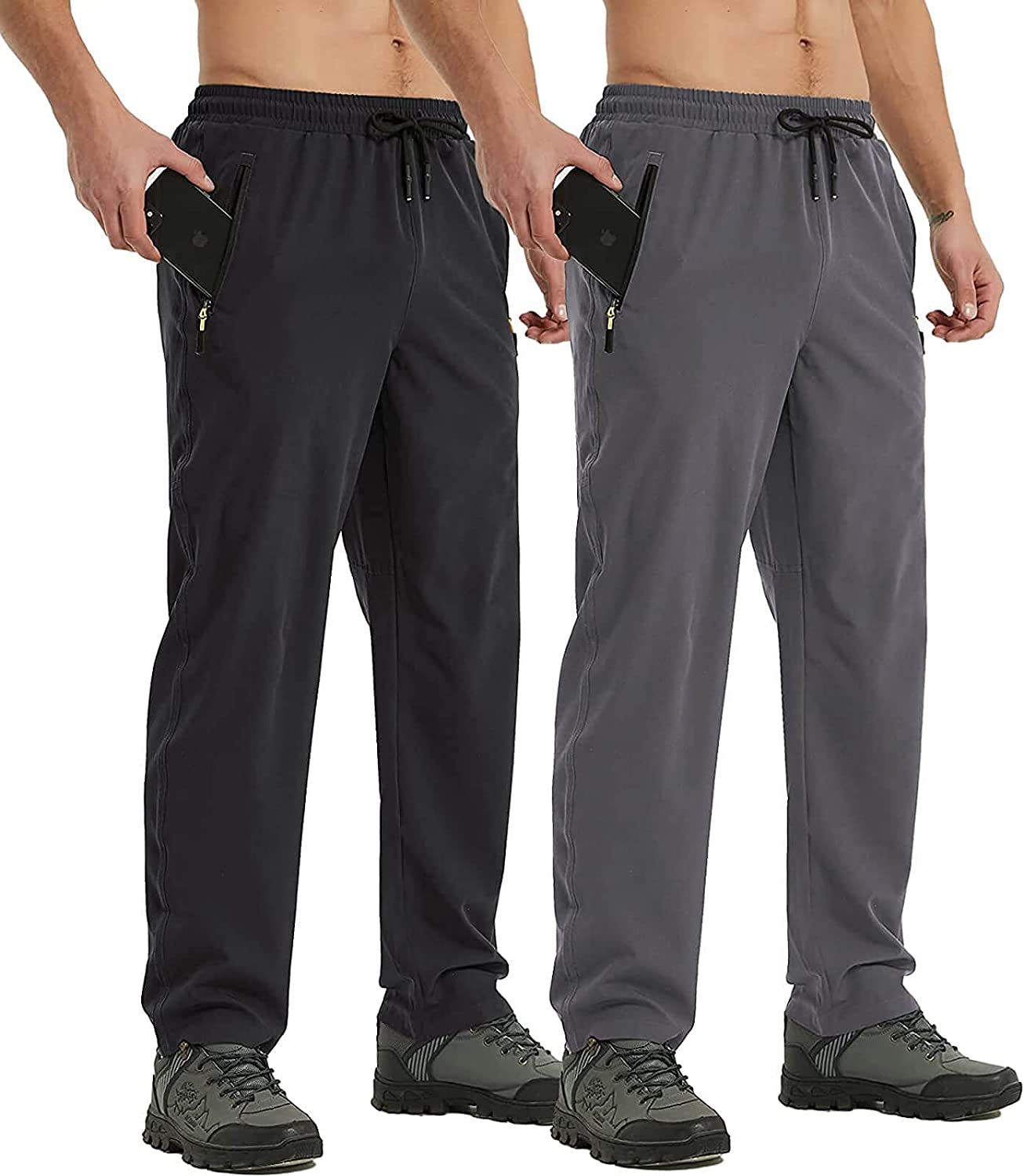 PRIESSEI Ranking TOP14 Nippon regular agency Men's Quick Dry Hiking Pants Workout Breathable L