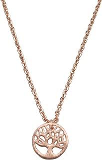 Emmas Jewelry Co. Womens Tree Necklace Dainty Tree of Life Pendant Family Tree Necklace Little Tree