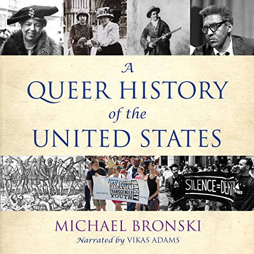 A Queer History of the United States audiobook cover art