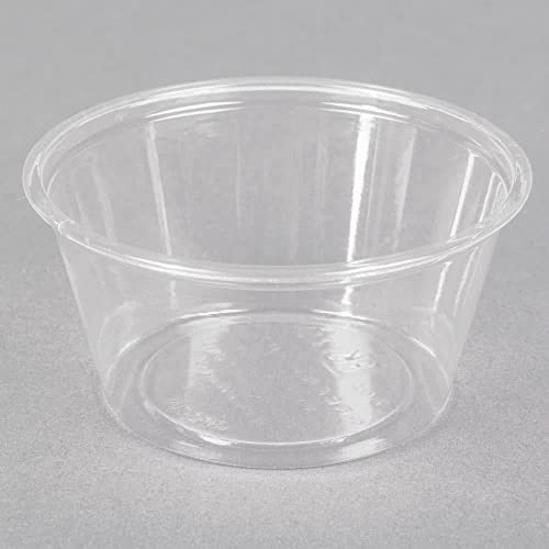 popular Fabri-Kal 9509302 Greenware 2 Ounce Clear popular 2021 Portion Cup - 2000 / CS outlet sale