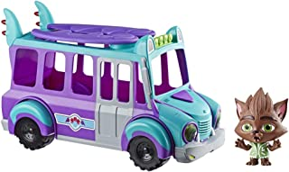 Netflix Super Monsters GrrBus Monster Bus Toy with Lights, Sounds, and Music Ages 3 and Up
