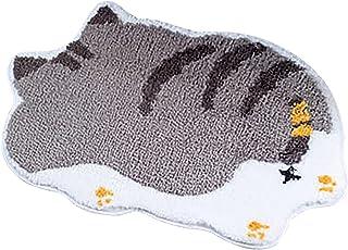 MKLEKYY Cute Pet Floor Mats Personalized Front Door Decoration Home Mat Waterproof Profile Welcome Doormat for Indoor Outd...