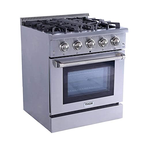 Downdraft Gas Range