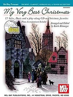 My Very Best Christmas Trumpet, Clarinet, Soprano Sax, & Tenor Sax Edition