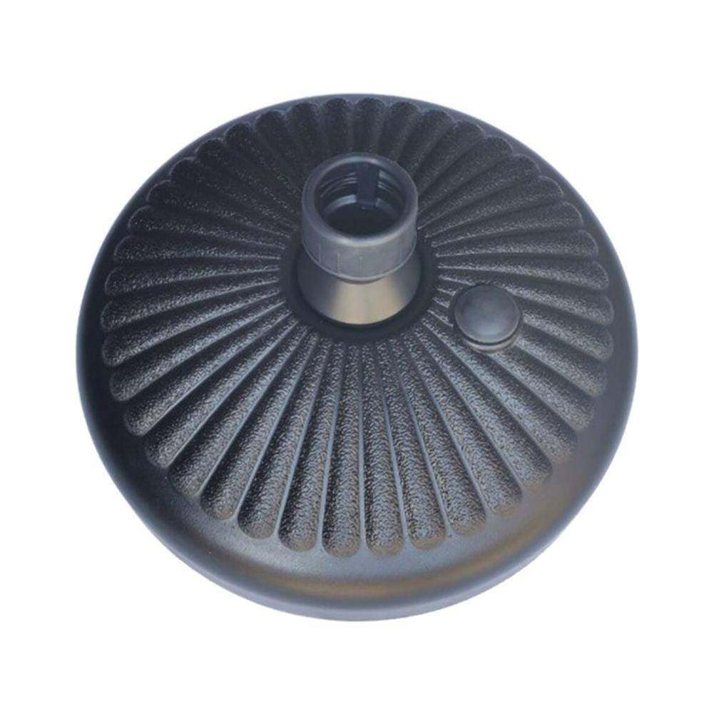 Base de sombrilla redonda, Base de sombrilla llena de agua Soporte de sombrilla Soporte de sombrilla resistente para sombrilla de jardín: Amazon.es: Hogar