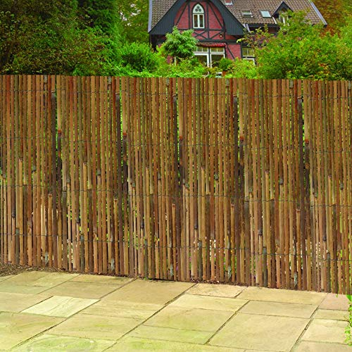 "Gardman R669 Split Bamboo Fencing, 13' Long x 6' 6"" High"