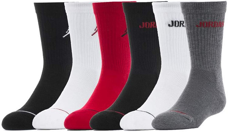 Jordan Boys 6-Pk. Crew Socks