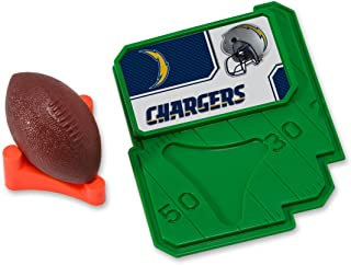 CAKEMAKE NFL Football & Tee, Cake Topper, San Diego Chargers