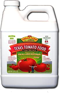 Urban Farm Fertilizers Texas Tomato Food, Competition Tomato Fertilizer, 1 quart.