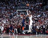 Damian Lillard Trail Blazers Game-Winning 3-Point Shot v. Thunder 8' x 10' Basketball Playoffs Photo