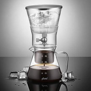 Glastal Cold Brew Dripper 600ml / 4 tazas Cafetera de goteo frío ...