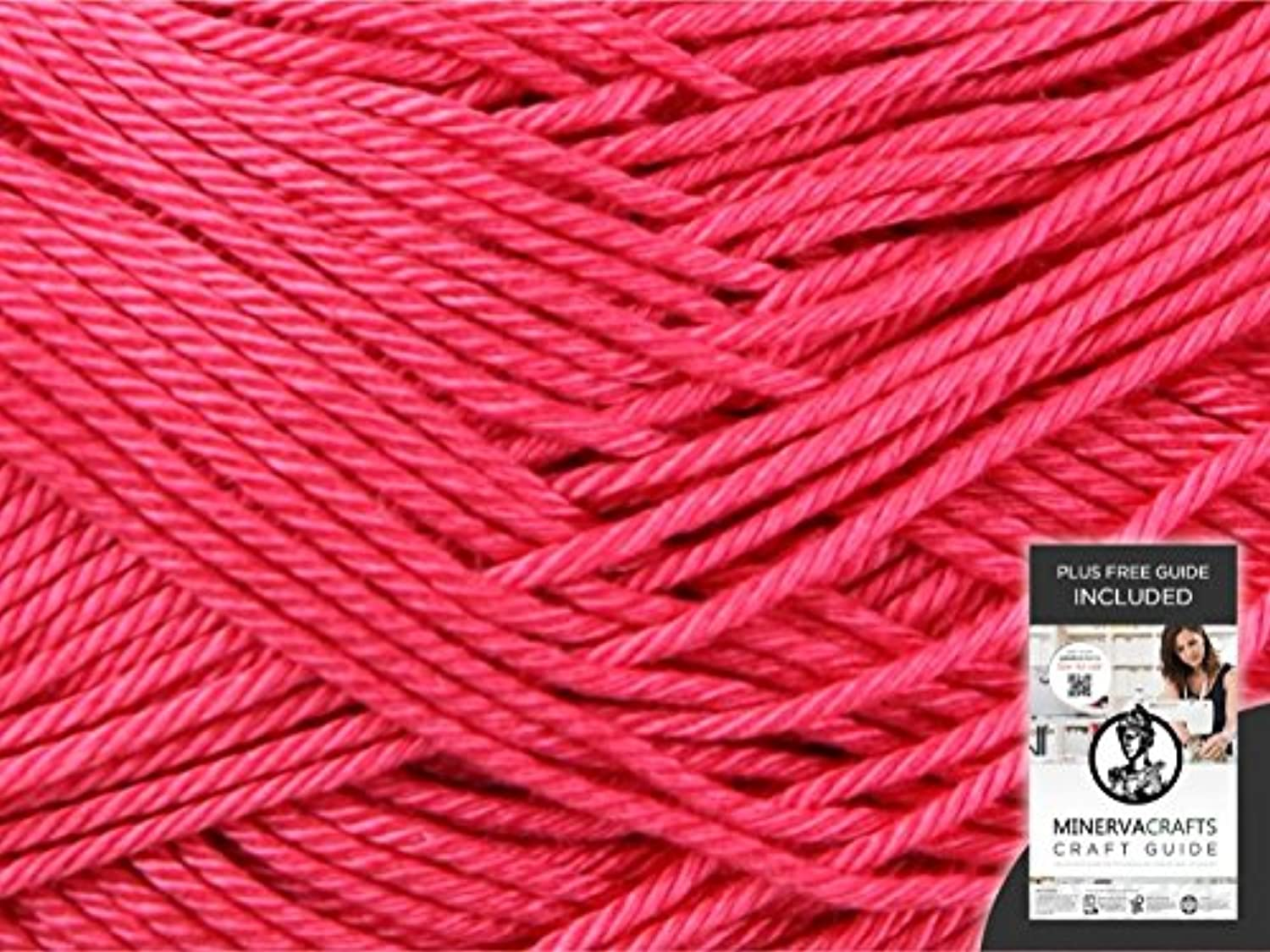 Sirdar Cotton Knitting Yarn DK 530 Pomegranate  10 x 100 gram balls