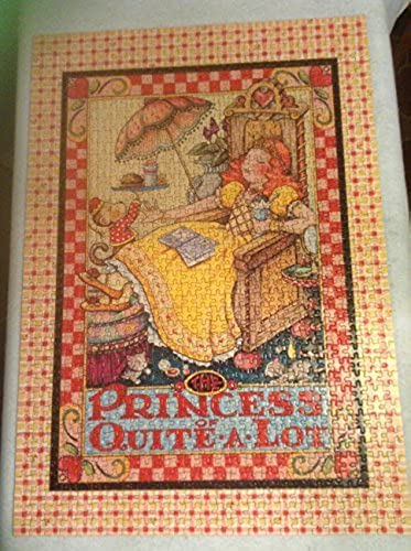 THE PRINCESS OF QUITE A LOT 1000 PC PUZZLE by Mary Engelbreit