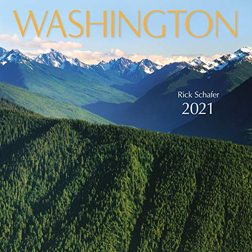 Washington Wall Calendar 2021