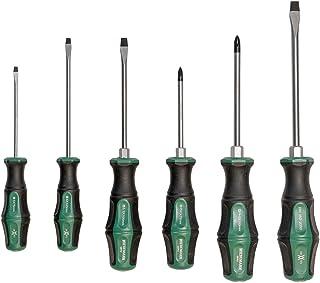 Skruvmejselsats proffs, 6 delar i Q-50-stål ur ENSURE-serien från WIESEMANN 1893 I Högkvalitativ skruvmejsel med slaghätta...