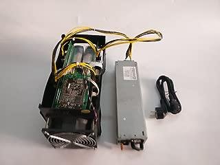 USED Bitmain Antminer S5 Bitcoin Miner 1150G 28NM BM1384 BTC ASIC Mining Machine With Power Supply