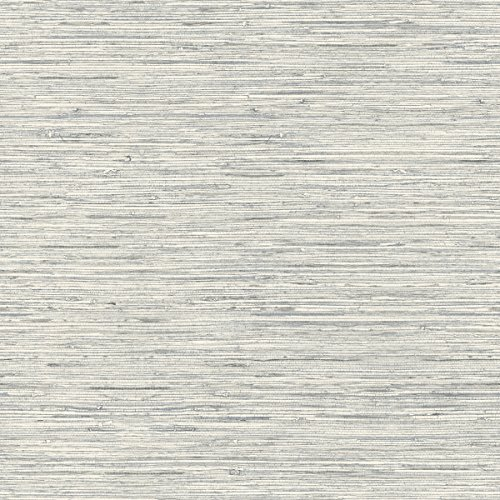 RoomMates Grasscloth Peel and Stick Wallpaper , Grey , 20.5' x 16.5 feet - RMK11078WP