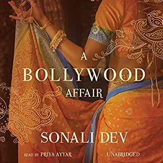 A Bollywood Affair audiobook cover art