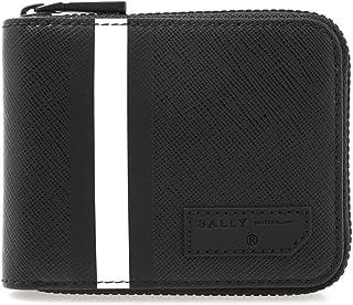 [バリー] BALLY メンズ ラウンドファスナー二つ折り財布 ブラック BENNER.OF 6224362 30 BLACK/BLACK [並行輸入品]