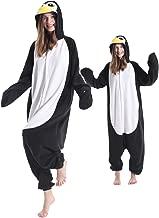 Adult Penguin Pajamas One Piece Halloween Christmas Cosplay Penguin Costume Animal Onesie Homewear Sleepwear for Women Men