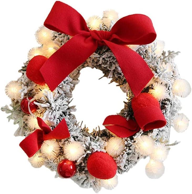 YMJTLTU 30CM Garland Christmas Weekly update Rat Decorations Over item handling Wreath Artificial