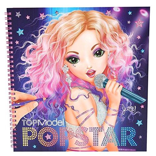 TopModel Popstar Nuovo Libro di coloritura Ottobre 2015