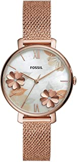 Fossil Womens Analogue Quartz Watch with Stainless Steel Strap ES4534