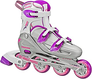 Roller Derby Women's V-Tech 500 Button Adjustable Inline Skate