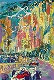 CLASSIC POSTERS Monaco Grand Prix 1976 Foto-Nachdruck