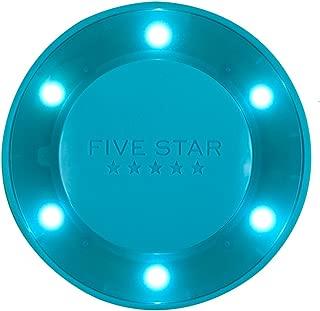 Five Star Locker Accessories, Locker Light, Push Button Light, Colored LED, Magnetic, 4